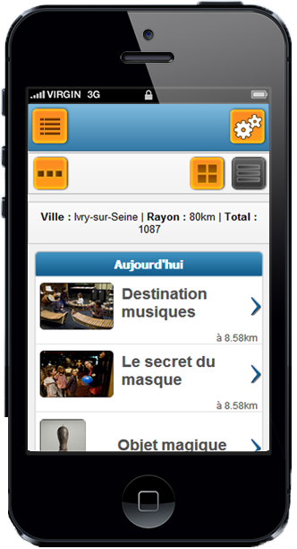 Apercu version mobile ExitToLive